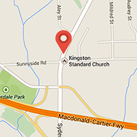 Google map for Kingston Standard Church